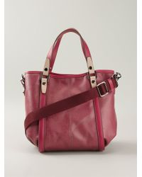 Tod's Logo Plaque Tote - Lyst
