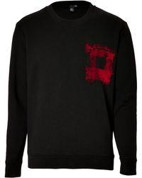 McQ by Alexander McQueen Sweatshirt with Chest Pocket - Lyst
