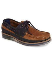 Ted Baker 'Racksen' Leather & Suede Boat Shoe - Lyst