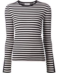 A.L.C. Striped T-shirt - Lyst