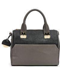 hayden-harnett - 'sandrine' Saffiano Leather Satchel - Lyst