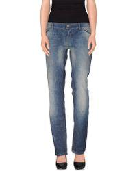 D&G Denim Pants blue - Lyst