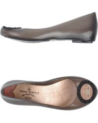 Vivienne Westwood Anglomania Vivienne Westwood Anglomania + Melissa Ballet Flats - Lyst
