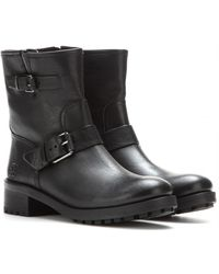 Tory Burch Chrystie Leather Boots - Lyst