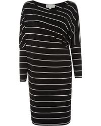 Mary Portas - The Stripe Side Ruche Dress - Lyst