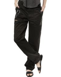 Raquel Allegra Relaxed Pant - Lyst