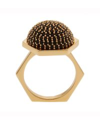 Rachel Zoe Pave Statement Ring - Lyst