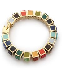 Eddie Borgo - Small Cube Bracelet - Lyst