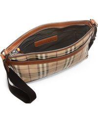 Burberry Crossbody Messenger Bag - Lyst