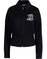 Olympia Le-Tan Jacket black - Lyst