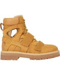 """Hood By Air Beige """"Avalanche"""" Boots - Lyst"""