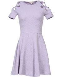 Opening Ceremony Purple Short Dress - Lyst