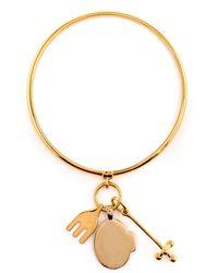 Chloé - Cross, Fork, Harlow Bracelet - Lyst