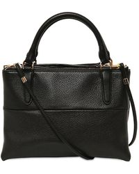COACH - Mini Borough Grained Leather Top Handle - Lyst