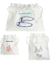 J.Crew Drawstring Travel Bags - Lyst