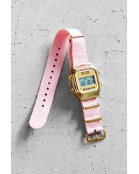Rich Gone Broke - Pink Nato Digital Watch - Lyst