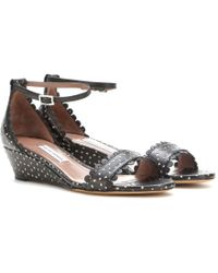 Tabitha Simmons Juniper Leather Sandals - Lyst