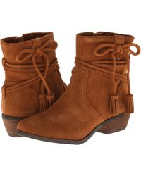 Minnetonka Brown Mesa Boot - Lyst