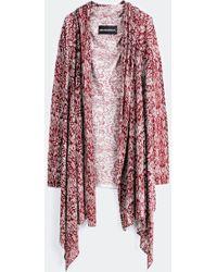 Zadig & Voltaire Flap Jacket Ana Print Deluxe Sc - Lyst