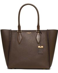 Michael Kors | Gracie Large Leather Tote | Lyst