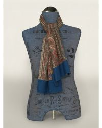 Ralph Lauren Double-Faced Paisley Scarf - Lyst