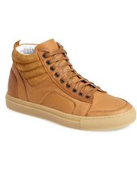 Del Toro Leather & Suede 'Boxing' Sneaker - Lyst