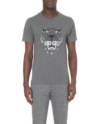 Kenzo Tiger Short-Sleeved T-Shirt - For Men - Lyst