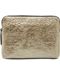 3.1 Phillip Lim Gold 31 Minute Metallic Clutch Bag - Lyst