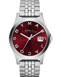 Marc By Marc Jacobs Women'S The Slim Stainless Steel Bracelet Watch 36Mm Mbm3314 - Lyst