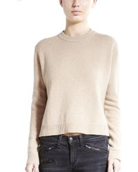 Otte New York Cropped Long Sleeve Sweater - Lyst