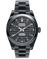 Bamford Watch Department - Rolex Milgauss Oyster Perpetual Watch - Houndstooth - Lyst