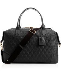 Liberty - Black Iphis Leather Regent Weekend Bag - Lyst