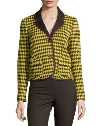 M Missoni Knit Two-Button Jacket - Lyst