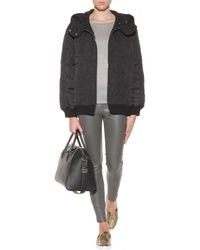 J Brand Midrise Stretchleather Trousers - Lyst