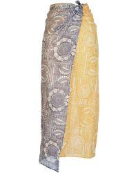 Antik Batik Sciarpapareo in Cotone Amalia - Lyst