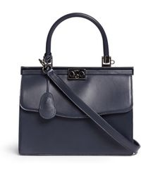 Rodo Small Calf Leather Frame Satchel - Lyst