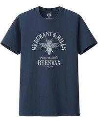 Uniqlo Men Merchant & Mills Graphic Short Sleeve T Shirt - Lyst