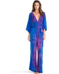 Blu Moon - Kimono Sleeve Jumper - Lyst