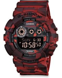 G-Shock Classic Series Camouflage Digital Watch - Lyst
