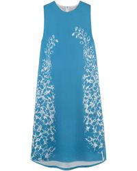 Mulberry Blue Bee Dress - Lyst