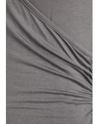 East Concept Fashion Ltd - Seemingly Sew Top In Grey - Lyst
