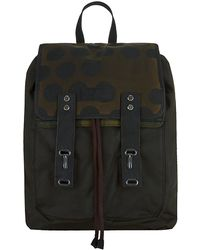Barbour - Waxed Snow Spot Backpack - Lyst
