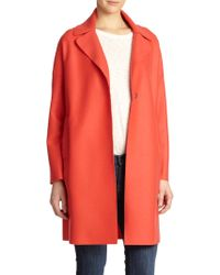 Harris Wharf London Wool Coat - Lyst