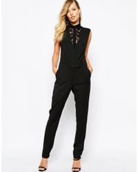 SuperTrash - Wallace Jumpsuit With Lace - Lyst