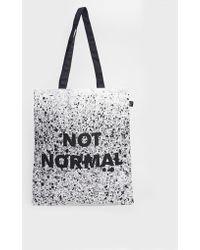 Lazy Oaf - Not Normal Shopper Bag - Lyst