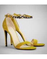 Belstaff Viviane Chain Sandals - Lyst