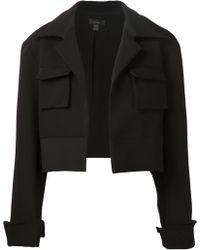 Ellery Cropped Jacket - Lyst