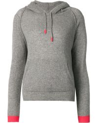 Chinti & Parker - Raglan Sleeve Knitted Hoodie - Lyst