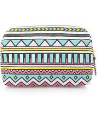 Forever 21 - Small Tribal Print Cosmetic Bag - Lyst
