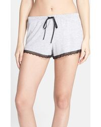 Joe's Jeans - 'cara' Lace Trim Shorts - Lyst